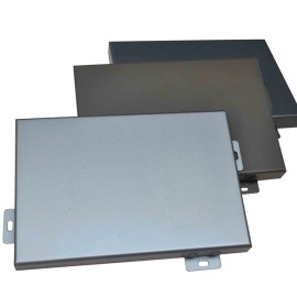 Executive Office Wall bright silver Aluminum Veneer for ceiling