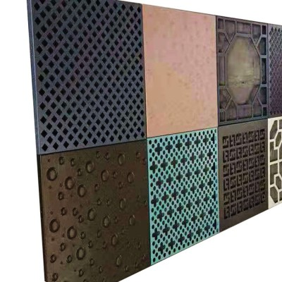 2.5mm single-layer solid aluminum plate for decoration Tunnel entrance wall