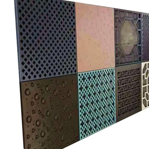 Sales Office cornice aluminum panels/2.5mm villa Overhead eaves C-shaped edging aluminum plate