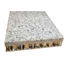 Marble surface aluminum honeycomb roof panel
