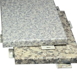Mashrabiya stone outside of building wall stone surface aluminum panels