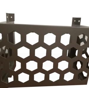 多孔冲圆孔外墙面吸音铝单板
