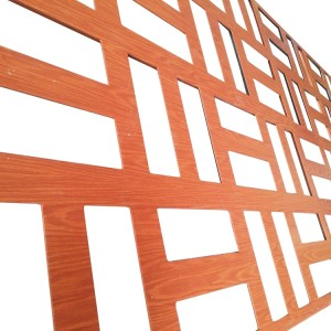 全铝幕墙激光雕刻装饰铝单板材料