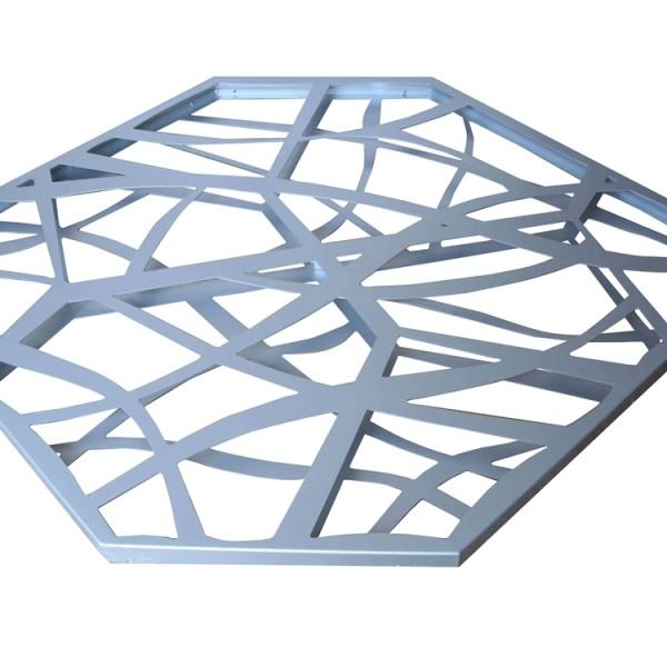 售楼处门头造型铝板