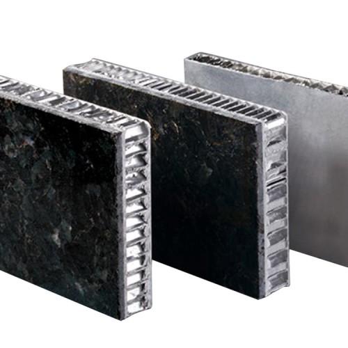 厂家直销仿大理石表面蜂窝夹芯铝单板