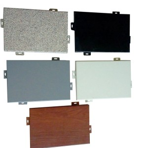universiry construction decorative wall panels/aluminum outside wall panels/architecture single plate for exterior wall