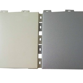 colored anodized aluminum housing facade walll sheets