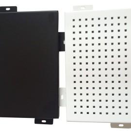 冲孔铝单板/小区桥梁声屏障 /降噪板