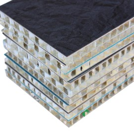 Natural Stone Fiberglass Aluminium Honeycomb Composite sheet for curtain wall