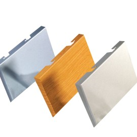 PVDF /powder coated aluminum plate for decoration material