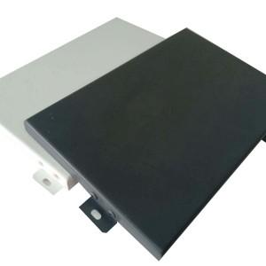 lightweight aluminum cladding panels Aluminum exterior wall cover Metal panels for advertising board