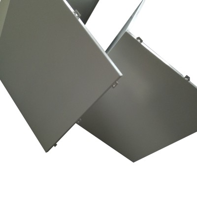 Irregular molding aluminum decorative cladding panels manufacture with pvdf coating
