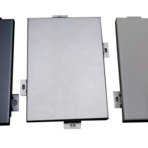 customized aluminum single wall panel sheets for decoration