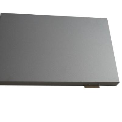 vertical aluminum siding panels Modern home top roof siding Metal aluminum outer cover panels