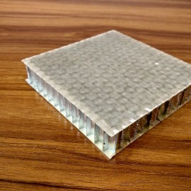 Glass fiber+epoxy aluminum honeycomb core sandwich panels