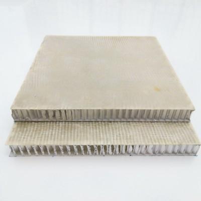 Cladding fiberglass honeycomb composite sheets and panels