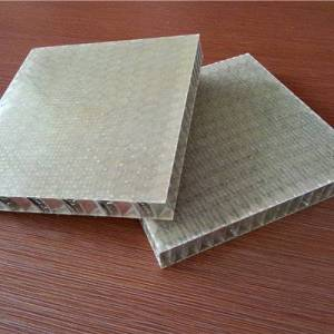 12 thick aluminum honeycomb/fiber honeycomb for industry /honeycomb aluminum composite panel