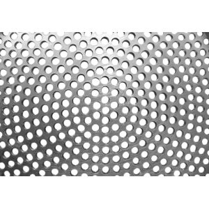 Perforated aluminum holes sheets with customized patterns