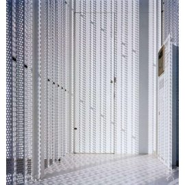filtering, separation, protection, soundproofing perforated metal sheeets with different edges
