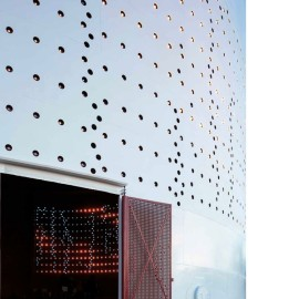 perforated aluminum sheet square holes for construction decoration