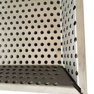 4x8 5052/6061 perforated aluminum alloy sheet for curtain wall decoration