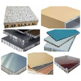 Aluminum ceiling honeycomb panels/Durable honeycomb panels with pvdf coating