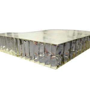weather resistant  Glass Fiber Facings of aluminum Core Aviation Composites panels