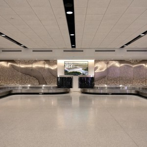 Commerical center drop ceiling panels suspended aluminum ceiling in hall