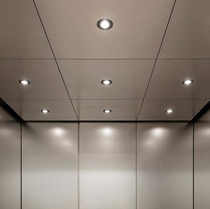 Renovate hotel interior roller coating marketplace suspended ceiling for building lobby