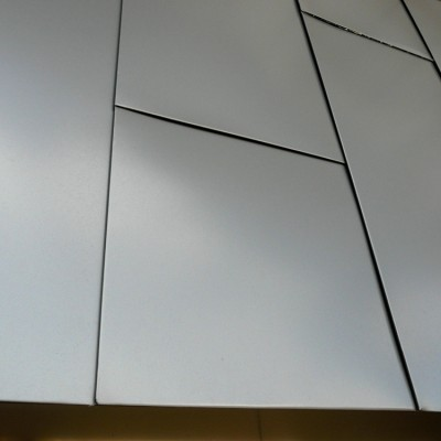 Aesthetic design for school building surface wall cladding/PVDF coating aluminum panels for university hospital