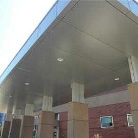 Rainscreen aluminum metal panels/aluminum canopy cladding manufactures