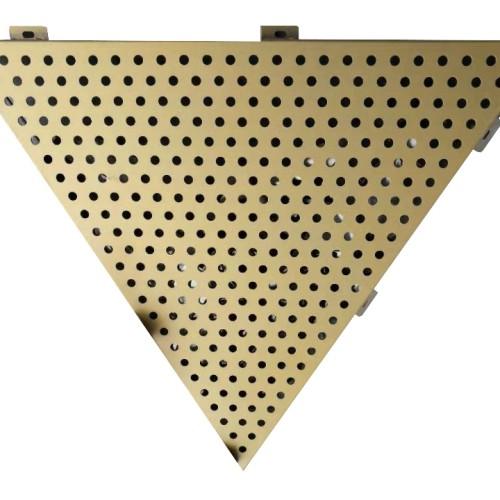 aluminum  materials outer-wall 1.0mm fluorocarbon/powder coating aluminum punching veneer