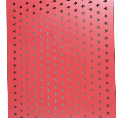 aluminum paneling manufacturers fluorocarbon/powder coating aluminum punching panels
