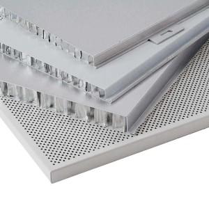 curtain wall plan fluorocarbon/powder coating aluminum punching veneer