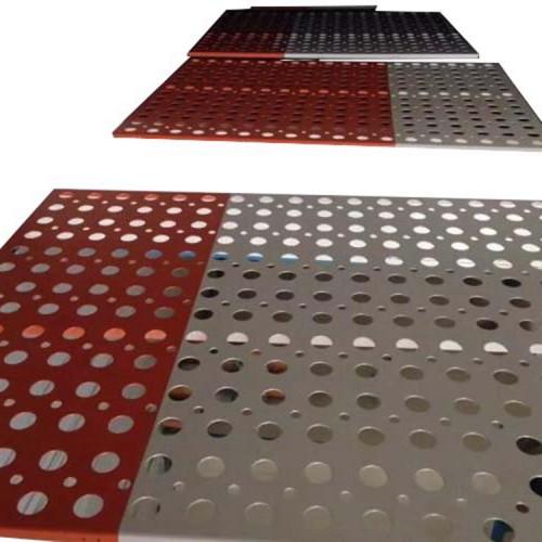 curtain wall paneling fluorocarbon/powder coating aluminum ceiling veneer