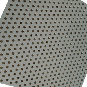 aluminum veneer ceiling powder coating with Inner wall