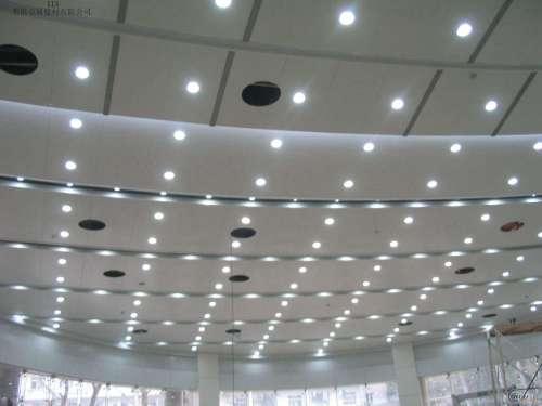 aluminum veneer ceiling powder coating with Inner wall