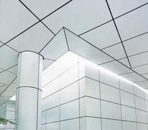 High quality Decorative curtain wall 2.0mm fluorocarbon aluminum veneer for ceiling