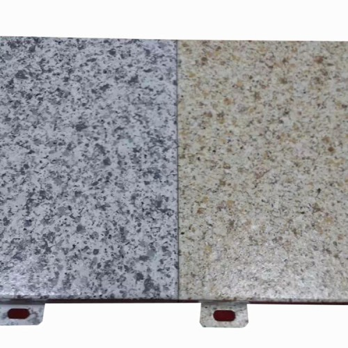 Anti-static imitation stone aluminum veneer for interior/exterior wall and ceiling for shopping mall decoration