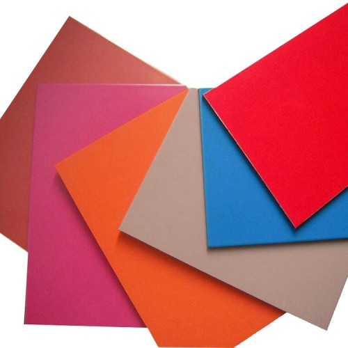 non honeycomb champagne color insulated partition aluminum composite panel/acm panel for building interior