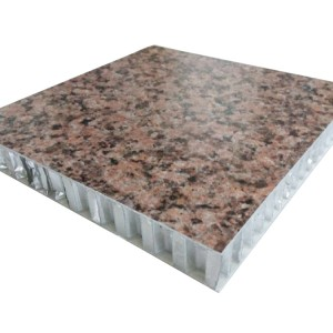 Factory price free backed stone sample aluminium honeycomb panel for curtain walls