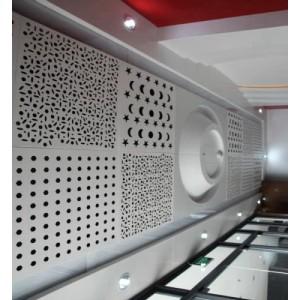 铝合金穿孔板建筑物体顶墙用天花板、过滤板、洞洞板