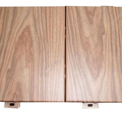 仿木建筑材料铝合金材料金属建筑板