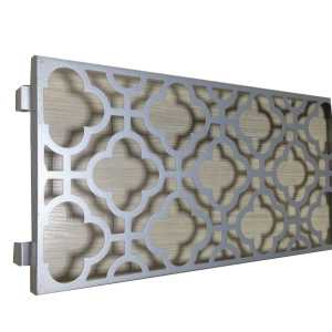 outdoor wall decor wayfair Laser cutting aluminum panels
