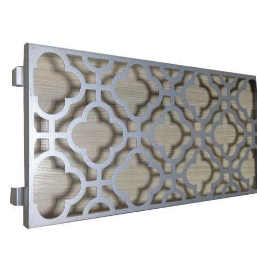 outdoor wall decor wayfair Laser cutting aluminum panels