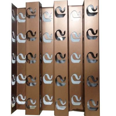 decorative exterior wall vent covers Laser cutting aluminum panels