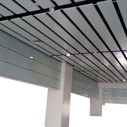Strip tubing ceiling aluminum square pass