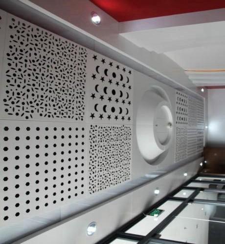 aluminum ceiling chandelier