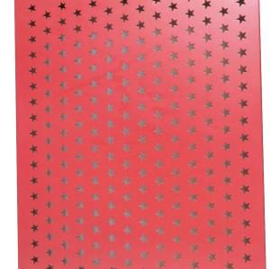 microporous sound insulation PVDF pierced aluminum veneer for interior wall