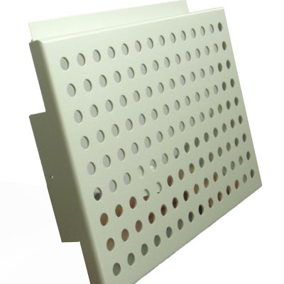 PVDF coating perforated hollow aluminum panels for villa outer-wall or interior wall